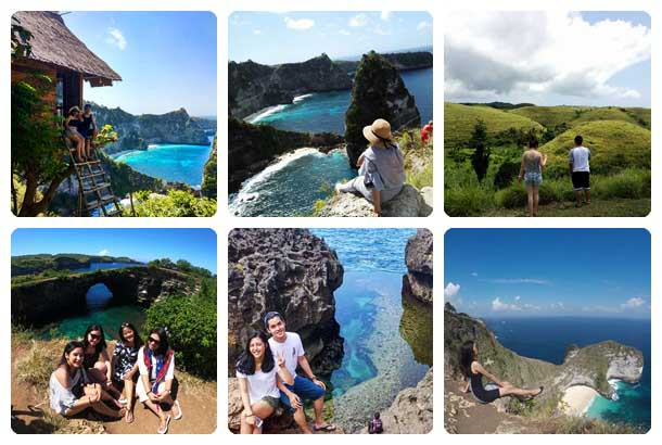 Paket 1 Day 1 Night (1N1D) Nusa Penida
