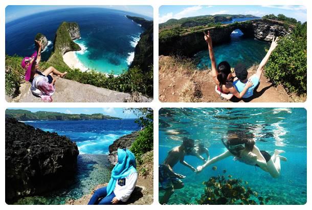 One Day Trip + Snorkeling Nusa Penida
