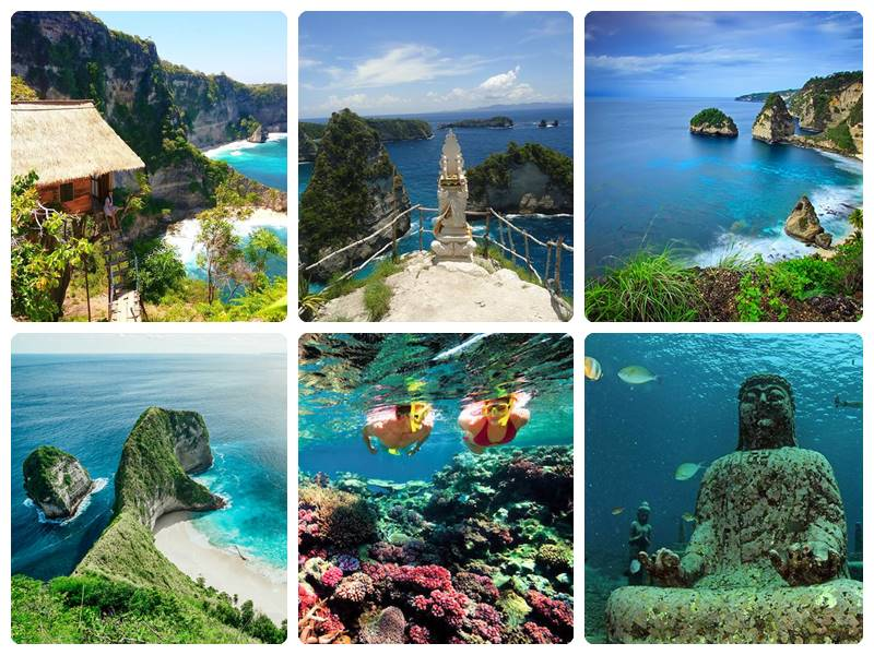 Paket 2 Days 1 Night + Snorkeling (2D1N+S) Nusa Penida
