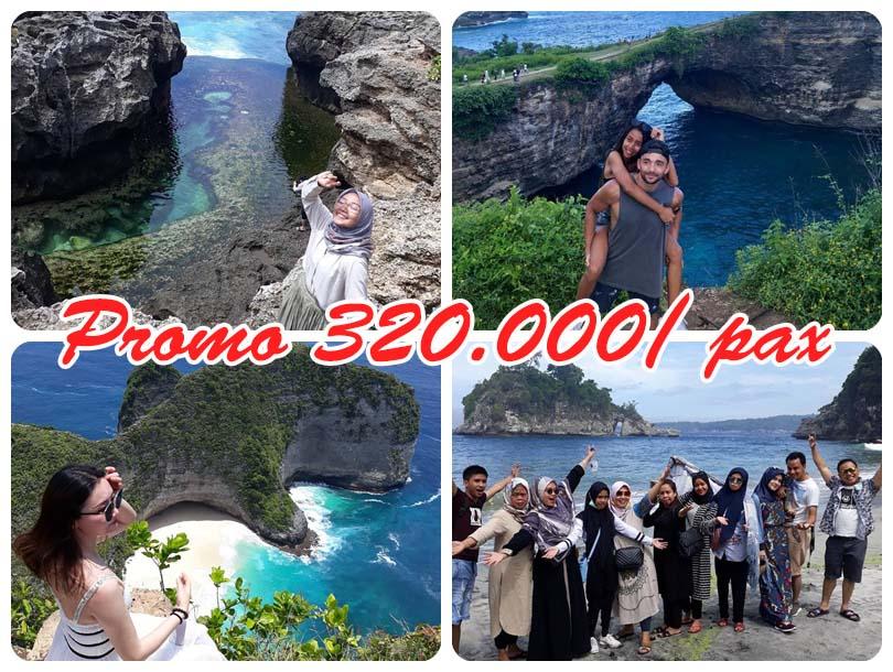 One Day Trip Nusa Penida, Promo Akhir Tahun Rp 295.000/orang